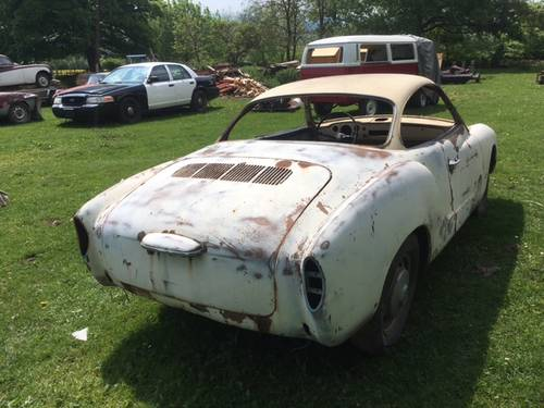 1967 karmann ghia rolling shell  SOLD (picture 4 of 6)