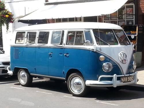 VW 13 Window Deluxe 1966 Original Survivor. For Sale (picture 2 of 6)