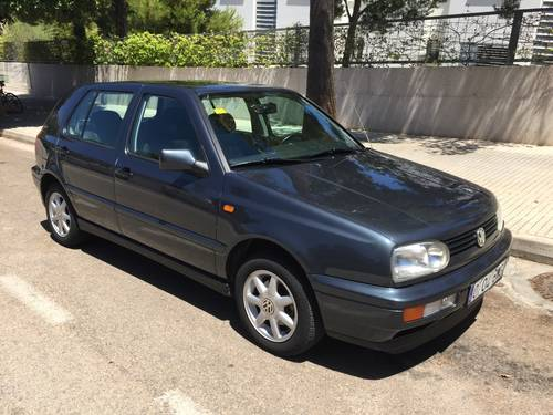 1997 VW GOLF 1600GL  5DOOR   LHD. For Sale (picture 1 of 6)