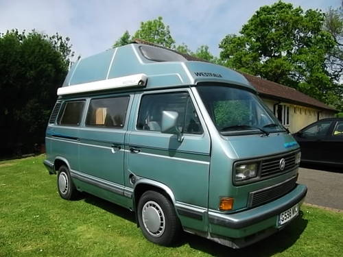 1990 Westfalia Atlantic 1.6 Turbo Diesel Volkswagen Transporter SOLD (picture 1 of 6)