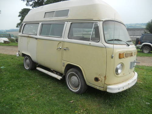 1973 V W Bay window high top camper van. SOLD (picture 5 of 6)