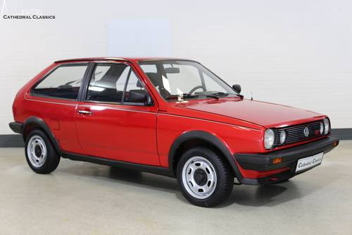 1986 A charming and rare VW Polo Coupe GT with impeccable VW deal SOLD (picture 1 of 6)