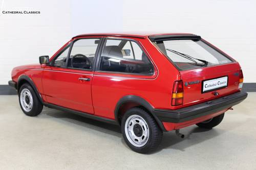 1986 A charming and rare VW Polo Coupe GT with impeccable VW deal SOLD (picture 2 of 6)