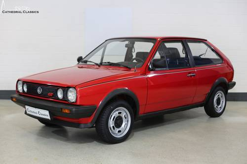 1986 A charming and rare VW Polo Coupe GT with impeccable VW deal SOLD (picture 3 of 6)