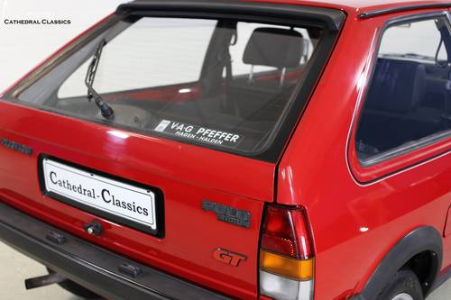 1986 A charming and rare VW Polo Coupe GT with impeccable VW deal SOLD (picture 5 of 6)