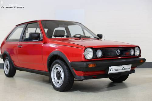 1986 A charming and rare VW Polo Coupe GT with impeccable VW deal SOLD (picture 6 of 6)