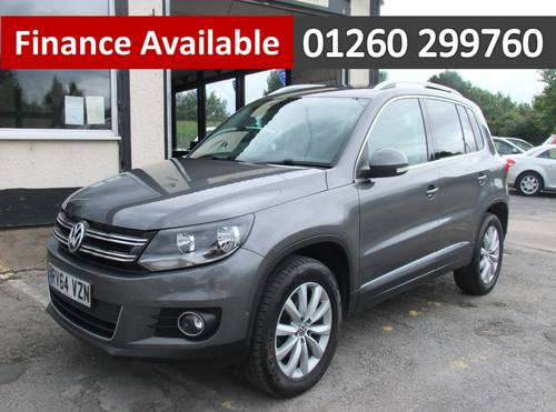 2014 VOLKSWAGEN TIGUAN 2.0 MATCH TDI BLUEMOTION TECH 4MOTION DSG  SOLD (picture 1 of 6)