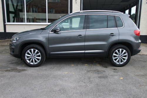 2014 VOLKSWAGEN TIGUAN 2.0 MATCH TDI BLUEMOTION TECH 4MOTION DSG  SOLD (picture 2 of 6)