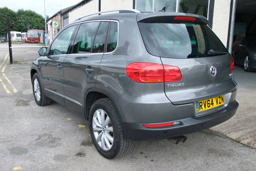 2014 VOLKSWAGEN TIGUAN 2.0 MATCH TDI BLUEMOTION TECH 4MOTION DSG  SOLD (picture 3 of 6)