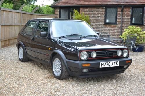 1990 MK 2 Golf GTI 16 Valve SOLD (picture 1 of 6)