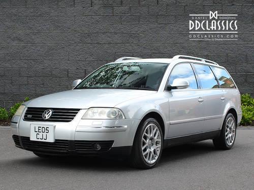 2005 Volkswagen W8 Passat (RHD) SOLD (picture 1 of 6)