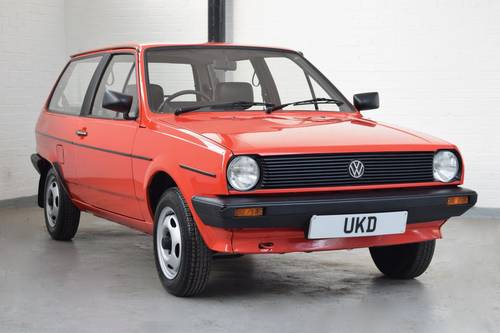 VW VOLKSWAGEN POLO MK2 BREADVAN 1.0 CL 1984 SOLD (picture 1 of 6)