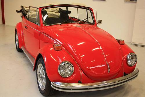 1971 Volkswagen Beetle Karmann Convertible SOLD (picture 1 of 6)