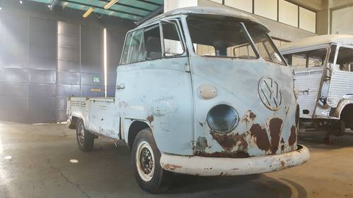 1967 VW T1 Pickup in good basis for restoration For Sale (picture 2 of 6)
