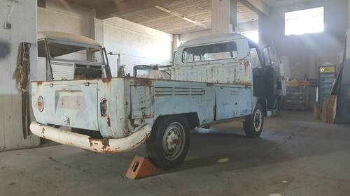 1967 VW T1 Pickup in good basis for restoration For Sale (picture 5 of 6)