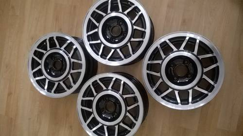 Mk2 VW Scirocco Scala 14 Inch Alloy Wheels SOLD (picture 3 of 6)