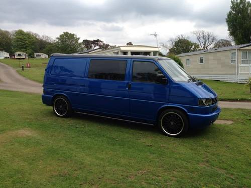 2001 VWW Transporter 2.5 TD 1200 Kombi 4dr Diesel Manual  For Sale (picture 1 of 6)
