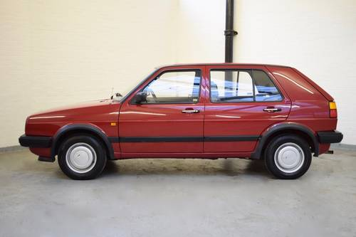 VW VOLKSWAGEN GOLF MK2 1.3 5DR RED 1988  SOLD (picture 3 of 6)