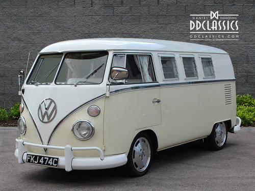1965 Volkswagen Type 2 Kombi Camper (LHD) SOLD (picture 1 of 6)