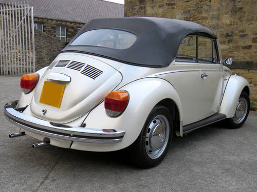 1974 VW Beetle Karmann Cabriolet - Stunning Car -One of The Best  SOLD (picture 2 of 6)