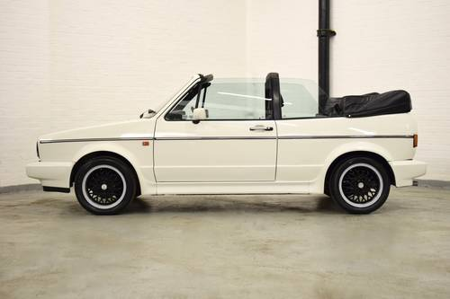 1990 VW VOLKSWAGEN GOLF MK1 CABRIOLET CLIPPER 1.8 WHITE  SOLD (picture 4 of 6)