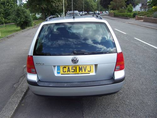2001 LEFT HAND DRIVE VOLKSWAGEN GOLF ESTATE 1.4I For Sale (picture 4 of 6)
