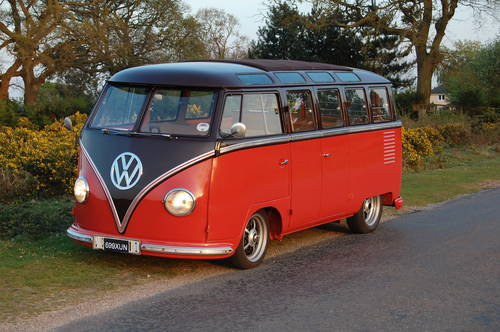 1956 VW Right Hand Drive 23 window Samba split For Sale (picture 4 of 6)