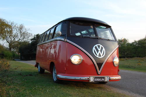 1956 VW Right Hand Drive 23 window Samba split For Sale (picture 6 of 6)