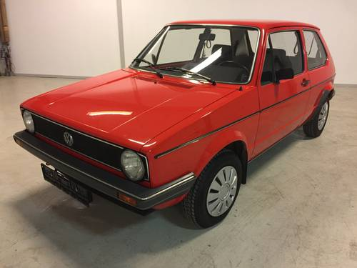 1983 Wolkswagen Golf 1 1,1 CL  SOLD (picture 1 of 6)