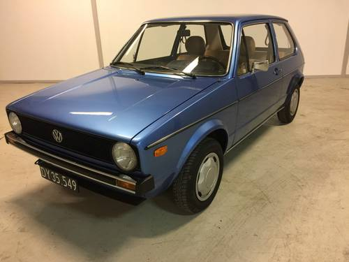 1975 Wolkswagen Golf 1 1,1  SOLD (picture 1 of 6)