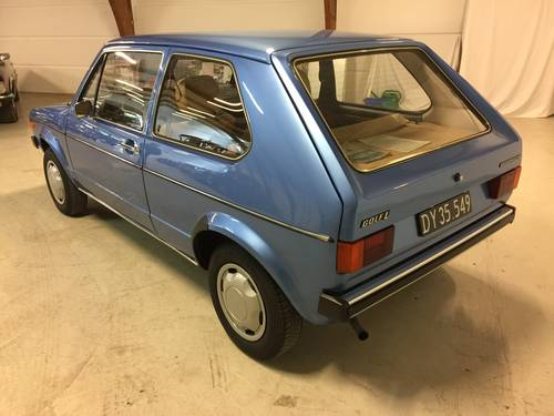 1975 Wolkswagen Golf 1 1,1  SOLD (picture 2 of 6)