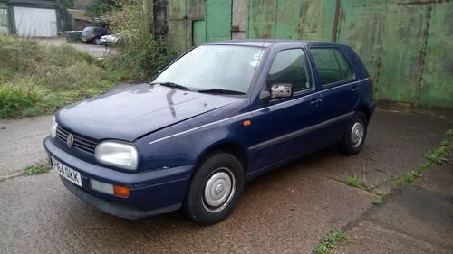 1996 Volkswagen Golf Diesel SOLD (picture 1 of 6)