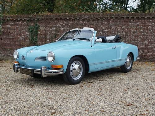 1973 Volkswagen Karmann Ghia 1600 Convertible 44.139 mls! For Sale (picture 1 of 6)
