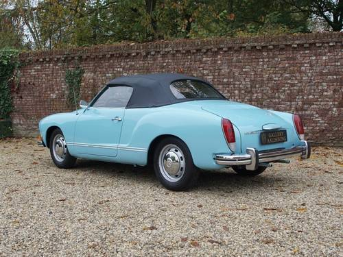 1973 Volkswagen Karmann Ghia 1600 Convertible 44.139 mls! For Sale (picture 2 of 6)