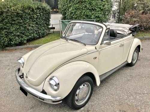 1974 Volkswagen - Beetle 1303 Cabriolet (AB 11) For Sale (picture 1 of 6)