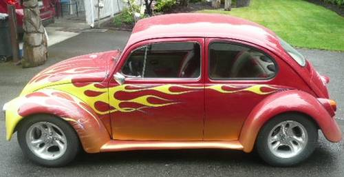 1970 VW Beetle Suicide Door Coupe - Custom Bug For Sale (picture 2 of 6)