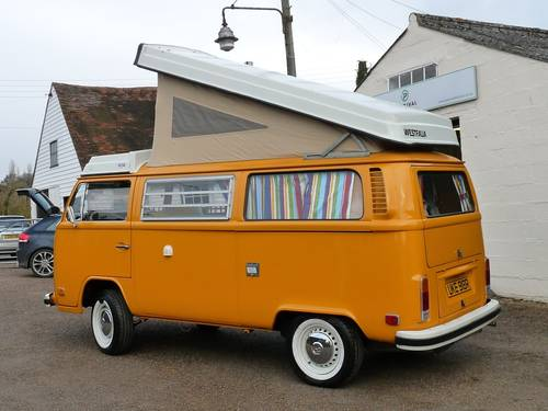 1977 Volkswagen Type 2 Camper Westfalia Berlin SOLD (picture 5 of 6)
