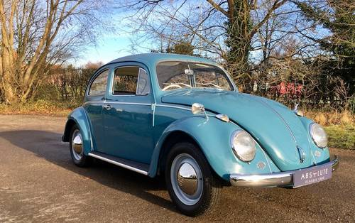 1964 Volkswagen Beetle - Show Quality Restoration. SOLD (picture 1 of 6)