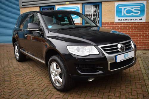 2008 58-plate VW Touareg 3.0 V6 TDI Auto FVWSH SOLD (picture 1 of 6)