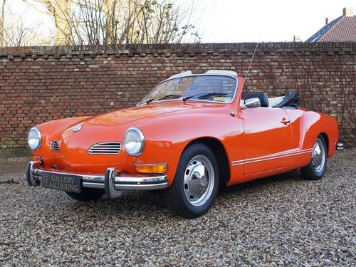 1974 Volkswagen Karmann Ghia Convertible only 14.882 miles! For Sale (picture 1 of 6)