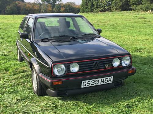 1989 Volkswagen Golf MK2 GTI 16V Oettinger SOLD | Car And Classic