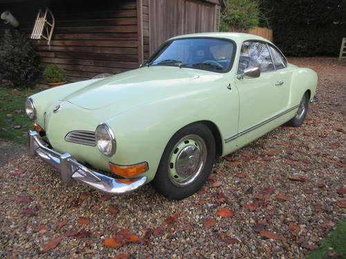 VW Karmann Ghia Coupe LHD 1971 SOLD (picture 1 of 6)