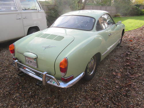 VW Karmann Ghia Coupe LHD 1971 SOLD (picture 5 of 6)