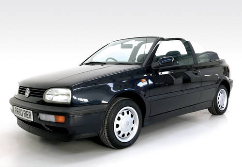 1997 VW Golf Cabriolet just 29,000 miles SOLD (picture 1 of 6)