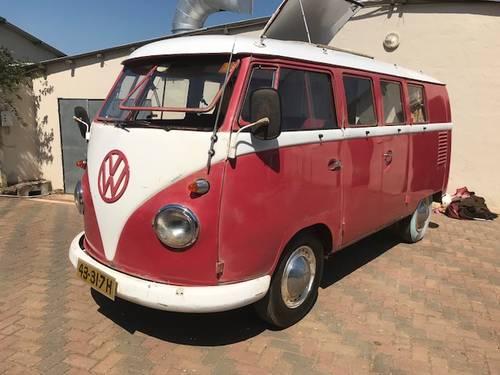 Camper Vans For Sale >> 1961 Volkswagen So34 Camper Van For Sale Car And Classic