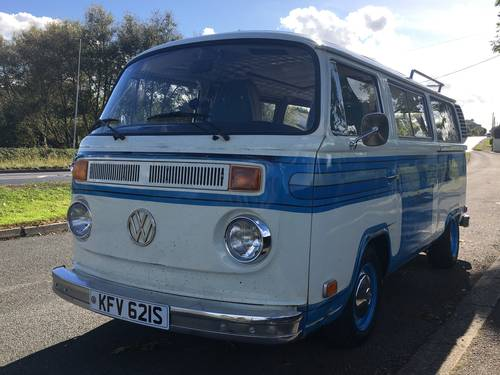 1978 VW Landmark, bay window, Bus, camper van, kombi For Sale (picture 1 of 6)