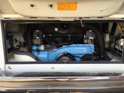 1978 VW Landmark Bay White/Blue stripes 2.0l engine For Sale (picture 6 of 6)