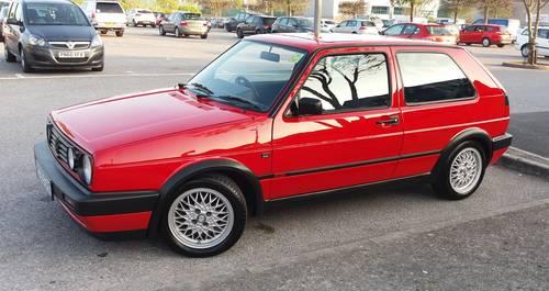 1992 k reg tornado red mk2 golf gti 8 valve sold car and. Black Bedroom Furniture Sets. Home Design Ideas