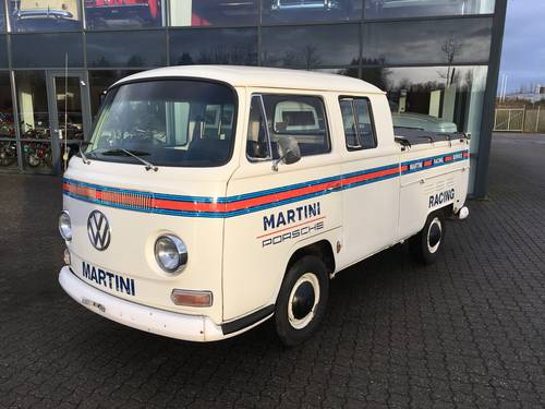 1968 VW T2 1.6 Pickup Double Cabin SOLD (picture 1 of 6)