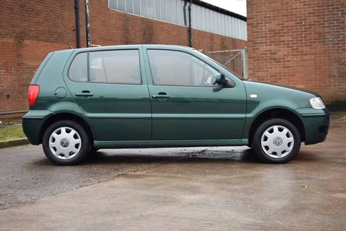 VW VOLKSWAGEN POLO 1.4 MATCH 5DR GREEN 2000  SOLD (picture 2 of 6)